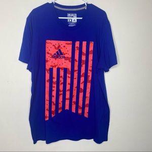 Adidas Flag Men's Performance Graphic T-Shirt